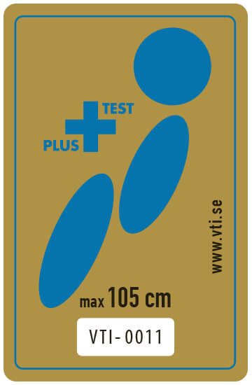 Logo du label suédois du PLUS TEST