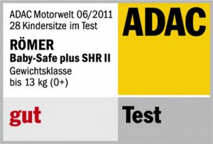 Résultat crash-test ADAC Britax Baby-Safe Plus SHR II