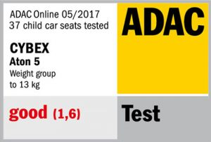 Résultat crash-test ADAC Cybex Aton 5