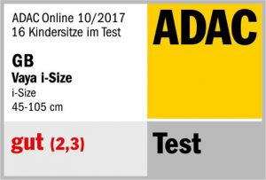 Résultat crash-test ADAC GB Vaya i-Size