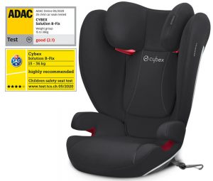 Résultat au crash-test ADAC du Cybex Solution B-Fix